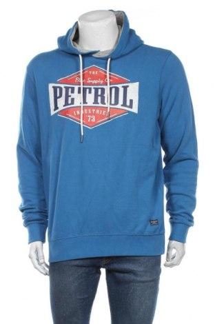 Hanorac de bărbați Petrol Industries, Mărime XL, Culoare Albastru, Bumbac, Preț 194,90 Lei