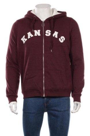 Męska bluza Pimkie, Rozmiar XL, Kolor Czerwony, 60% bawełna, 40% poliester, Cena 104,00zł