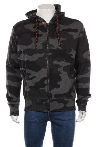 Męska bluza Superdry, Rozmiar XL, Kolor Szary, 58% bawełna, 42% poliester, Cena 164,00zł