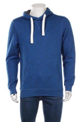 Мъжки суичър Tom Tailor, Размер M, Цвят Син, 85% памук, 15% полиестер, Цена 37,95лв.