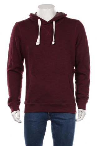 Męska bluza Tom Tailor, Rozmiar M, Kolor Czerwony, 85% bawełna, 15% poliester, Cena 129,38zł