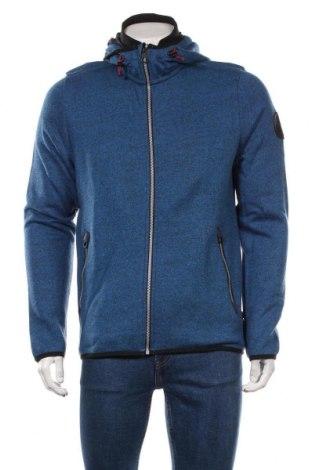 Мъжки суичър Tom Tailor, Размер M, Цвят Син, 70% памук, 30% полиестер, Цена 59,25лв.
