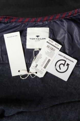 Мъжки суичър Tom Tailor, Размер L, Цвят Син, 70% памук, 30% полиестер, Цена 59,25лв.