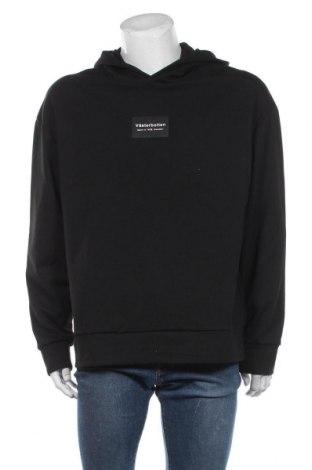 Męska bluza Zara, Rozmiar XL, Kolor Czarny, 70% poliester, 28% wiskoza, 2% elastyna, Cena 98,00zł