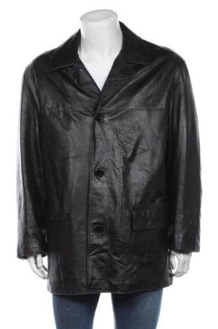 Мъжко кожено сако Joop!, Размер 3XL, Цвят Черен, Естествена кожа, Цена 195,30лв.