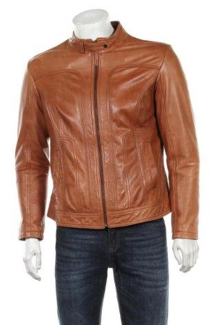 Мъжко кожено яке Mac Douglas, Размер S, Цвят Бежов, Естествена кожа, Цена 144,00лв.
