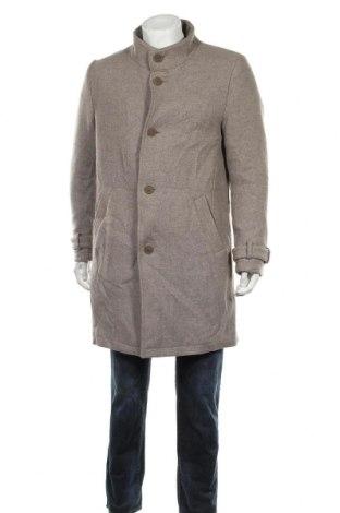 Palton de bărbați Drykorn for beautiful people, Mărime L, Culoare Bej, 62% lână, 38% poliamidă, Preț 480,79 Lei