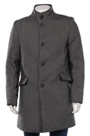 Мъжко палто McNeal, Размер L, Цвят Черен, 80% полиестер, 20% вълна, Цена 134,25лв.