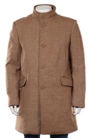 Мъжко палто McNeal, Размер L, Цвят Бежов, 80% полиестер, 20% вълна, Цена 134,25лв.