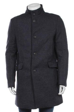 Мъжко палто McNeal, Размер L, Цвят Син, 80% полиестер, 20% вълна, Цена 134,25лв.