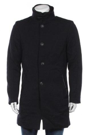 Мъжко палто McNeal, Размер M, Цвят Син, 55% полиестер, 45% вълна, Цена 119,25лв.