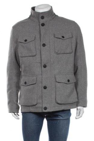 Ανδρικά παλτό S.Oliver, Μέγεθος XL, Χρώμα Γκρί, 90% πολυεστέρας, 10% μαλλί, Τιμή 92,40€