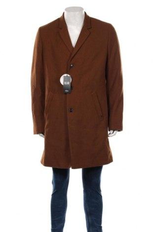 Мъжко палто S.Oliver, Размер XL, Цвят Кафяв, 54% полиестер, 38% вълна, 5% други тъкани, 3% вискоза, Цена 164,25лв.