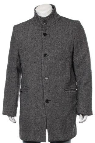Palton de bărbați Selected Homme, Mărime L, Culoare Gri, 70% lână, 30% poliester, Preț 218,84 Lei