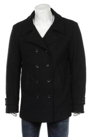 Palton de bărbați Stefanel, Mărime XL, Culoare Negru, 70% lână, 30% poliamidă, Preț 236,84 Lei