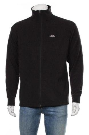 Bluză polară de bărbați Trespass, Mărime M, Culoare Negru, Poliester, Preț 193,42 Lei