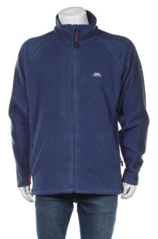 Męski polar Trespass, Rozmiar XL, Kolor Niebieski, Poliester, Cena 148,00zł