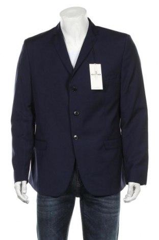 Sacou de bărbați Ben Sherman, Mărime XL, Culoare Albastru, 95% lână, 5% mohair, Preț 614,31 Lei