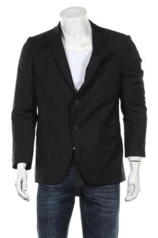 Мъжко сако Cinque, Размер L, Цвят Черен, 100% вълна, Цена 51,75лв.