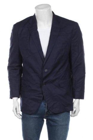 Sacou de bărbați Guabello, Mărime XL, Culoare Albastru, Lână, Preț 139,26 Lei