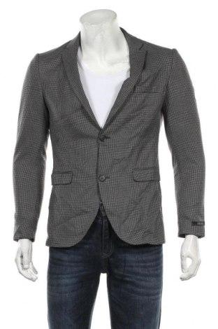 Мъжко сако Premium By Jack & Jones, Размер M, Цвят Сив, 49% полиестер, 49% вискоза, 2% еластан, Цена 39,90лв.