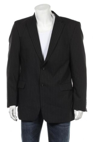 Мъжко сако Strellson, Размер L, Цвят Черен, Вълна, Цена 51,00лв.