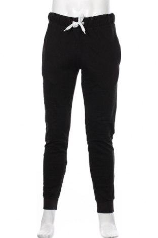 Pantaloni trening de bărbați Accanto, Mărime M, Culoare Negru, 65% bumbac, 35% poliester, Preț 59,68 Lei