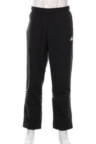 Męskie spodnie sportowe Adidas, Rozmiar M, Kolor Czarny, Poliester, Cena 184,00zł