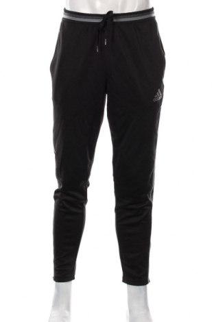 Pánské tepláky  Adidas, Velikost L, Barva Černá, Polyester, Cena  670,00Kč
