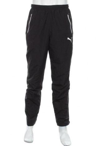 Мъжко спортно долнище PUMA, Размер M, Цвят Черен, Полиестер, Цена 28,35лв.