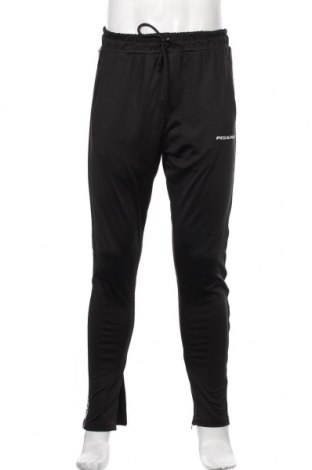 Pantaloni trening de bărbați Pegador, Mărime M, Culoare Negru, Poliester, Preț 157,90 Lei
