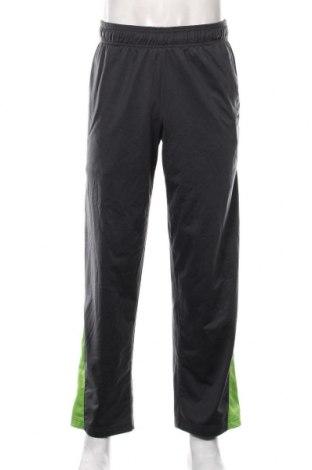 Pantaloni trening de bărbați Reebok, Mărime M, Culoare Gri, Poliester, Preț 59,68 Lei
