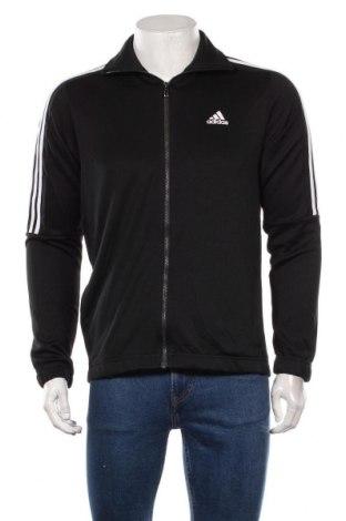 Bluză trening de bărbați Adidas, Mărime L, Culoare Negru, Poliester, Preț 126,00 Lei