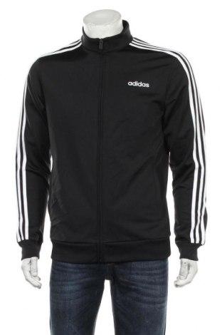 Bluză trening de bărbați Adidas, Mărime M, Culoare Negru, Poliester, Preț 139,26 Lei