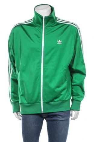 Bluză trening de bărbați Adidas Originals, Mărime XL, Culoare Verde, Poliester, Preț 226,97 Lei