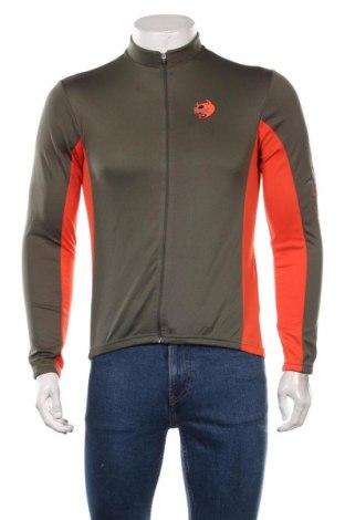 Мъжка спортна блуза IXS, Размер S, Цвят Зелен, Полиестер, Цена 23,94лв.