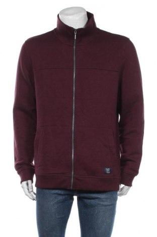 Męska bluza sportowa Tom Tailor, Rozmiar XL, Kolor Czerwony, 70% bawełna, 30% poliester, Cena 124,00zł