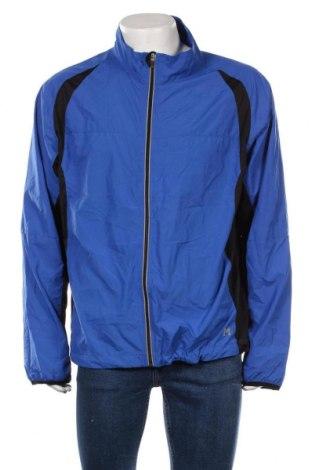 Мъжко спортно яке, Размер XXL, Цвят Син, Полиестер, Цена 35,70лв.
