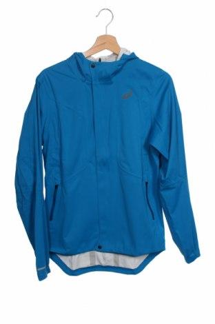 Мъжко спортно яке ASICS, Размер S, Цвят Син, Полиестер, Цена 89,25лв.