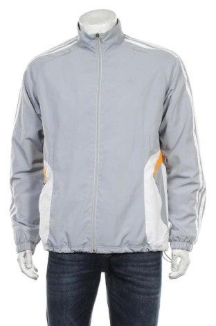 Мъжко спортно яке Adidas, Размер M, Цвят Сив, Полиестер, Цена 40,50лв.
