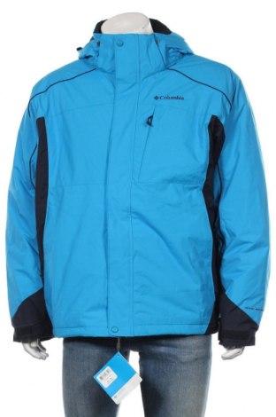 Geacă sport de bărbați Columbia, Mărime XL, Culoare Albastru, Poliamidă, Preț 811,68 Lei