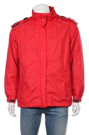 Мъжко спортно яке Crane, Размер L, Цвят Червен, Полиестер, Цена 33,60лв.