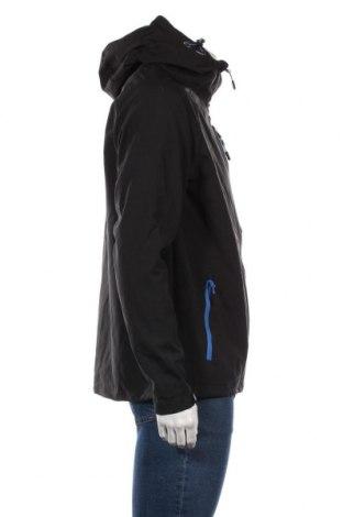 Мъжко спортно яке DLX by Trespass, Размер M, Цвят Черен, 95% полиестер, 5% еластан, Цена 64,96лв.