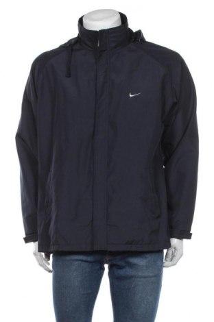 Pánská sportovní bunda  Nike, Velikost XXL, Barva Modrá, 65% polyester, 35% bavlna, Cena  829,00Kč