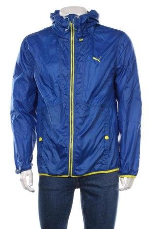 Мъжко спортно яке PUMA, Размер M, Цвят Син, 100% полиестер, Цена 65,10лв.