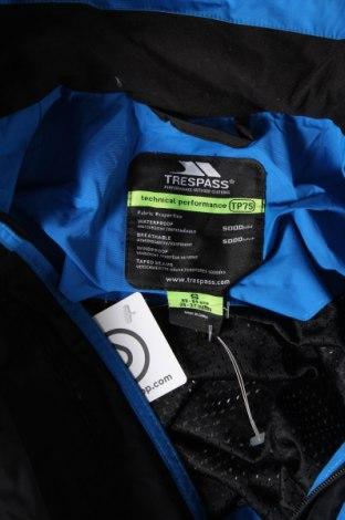 Мъжко спортно яке Trespass, Размер S, Цвят Черен, Полиамид, Цена 70,76лв.