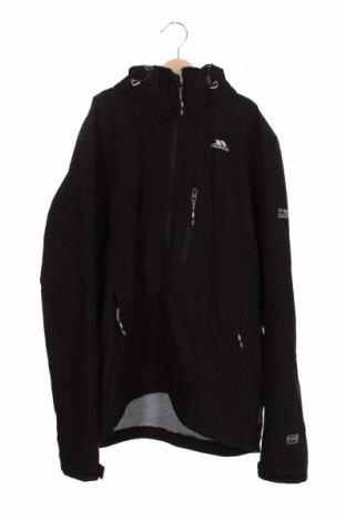 Мъжко спортно яке Trespass, Размер XS, Цвят Черен, 100% полиестер, Цена 61,60лв.