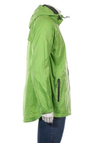 Мъжко спортно яке Trespass, Размер L, Цвят Зелен, Полиамид, Цена 58,56лв.