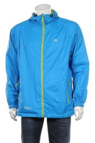 Мъжко спортно яке Trespass, Размер L, Цвят Син, Полиамид, Цена 64,66лв.