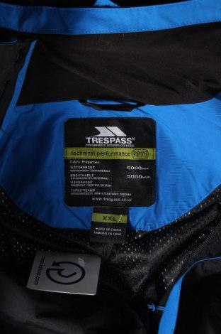Мъжко спортно яке Trespass, Размер XXL, Цвят Черен, Полиамид, Цена 70,76лв.